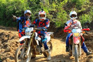 Hanoi motorbike tour to Perfume Pagoda