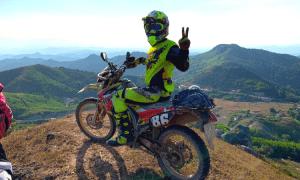 North vietnam motorbike tour to babe - 4 days