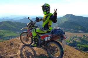 North vietnam motorbike tour to babe - 4 days