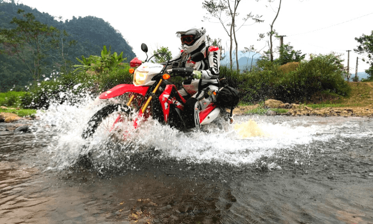 North vietnam motorbike tours - 10 days