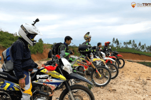 Sapa motorbike tour to thac ba lake