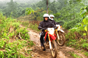 off-road motorbike tour to thac ba 4 days