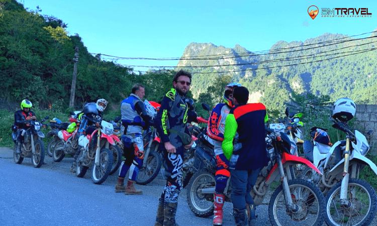 off-road motorbike tour to thac ba 4 days -1