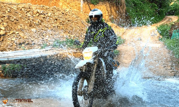 off-road motorbike tour to thac ba 4 days -2
