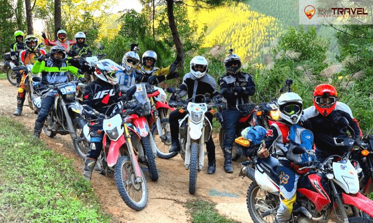 off road motorbike tour to thac ba 4 days 4