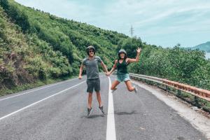 Hoi An Easy Riders Conquering Hai Van Pass