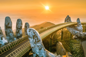 Hoi An Easy Riders Golden Bridge Tour